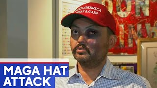 NYC gallery owner says he was attacked for wearing MAGA hat
