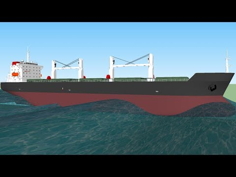 [SKETCHUP] 52.000 dwt Supramax Bulk Carrier Model With Sketchup