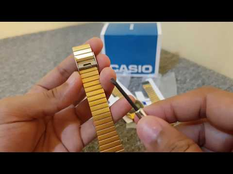 How To Resize Or Adjust Casio Watch Band
