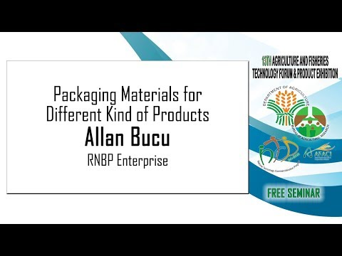 Packaging Materials For Different Kind Of Products