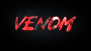 Venom Cool 3d text animation Venom AE