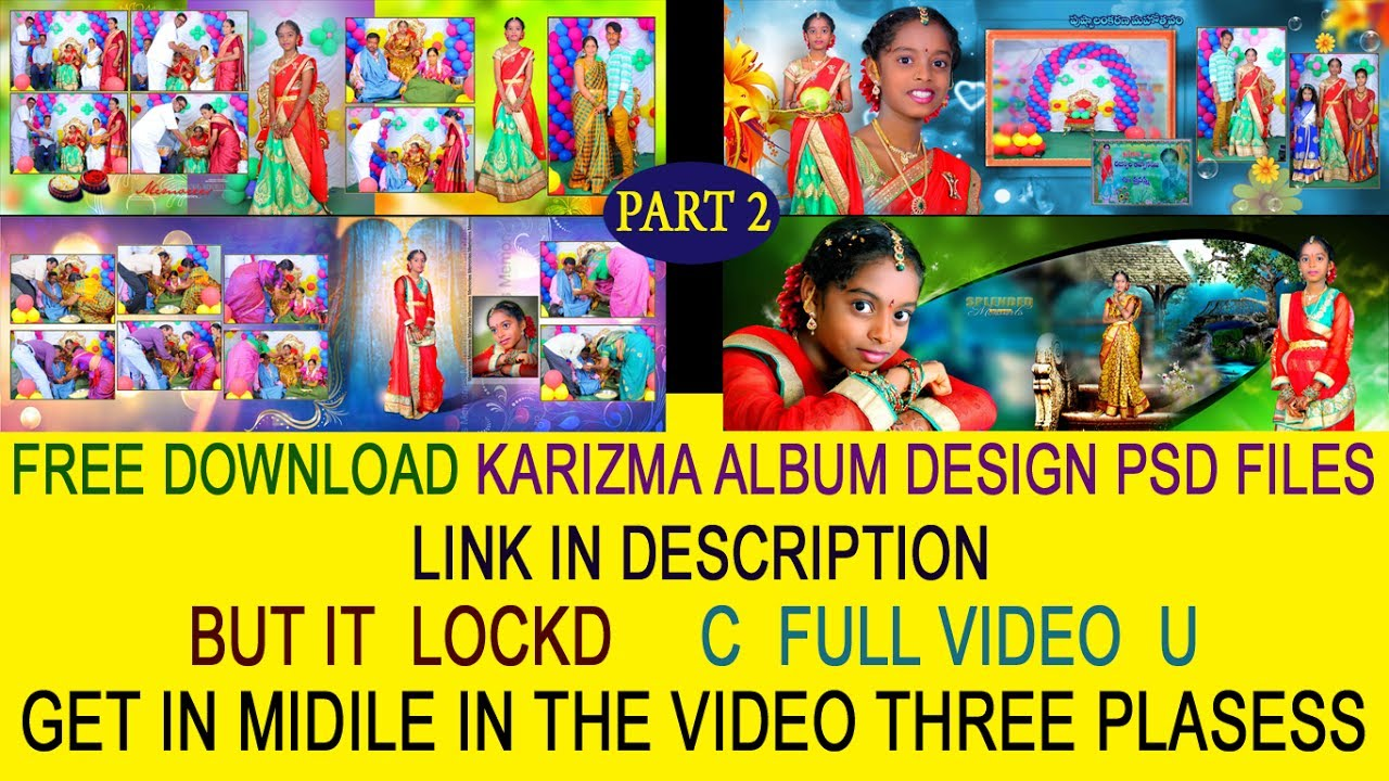 FREE download Karizma Canvera saree ceremony PSD FILES LINK IN dispersion  ss Desionars by photo editing
