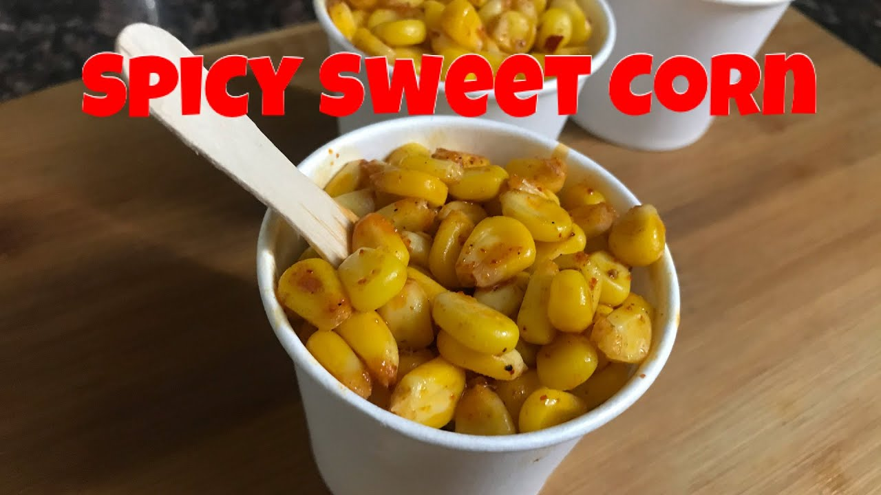 Spicy Masala Sweet Corn   मॉल जैसा मसाला कॉर्न घर पर बनाये   Masala Sweet Corn Chaat   Favindianfood