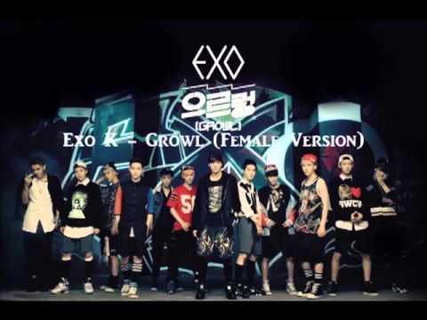 Exo K - Growl (Female Version)