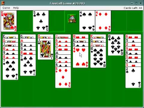 How to solve freecell 21283