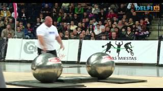 Strongman Champions League / Čempionų lyga 2012 10 06-07