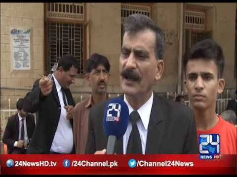 24 Report: Lawyers strike again in Karachi