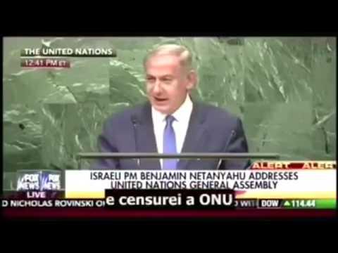 Benjamin Netanyahu debocha da ONU na ONU