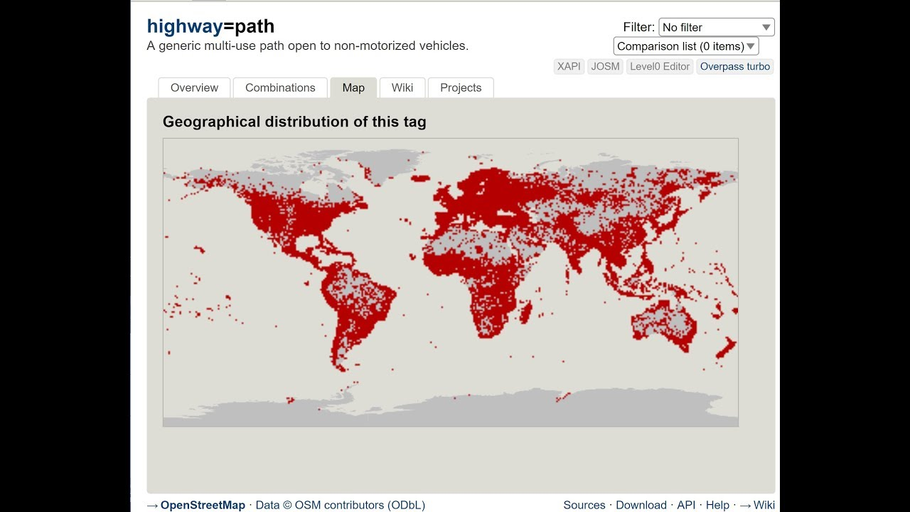 OpenStreetMap has become the world's Trail Map