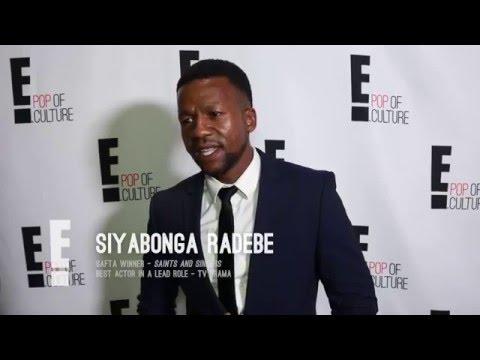 2016 SAFTA WINNERS: Siyabonga Radebe forgot to thank Lerato Mvelase