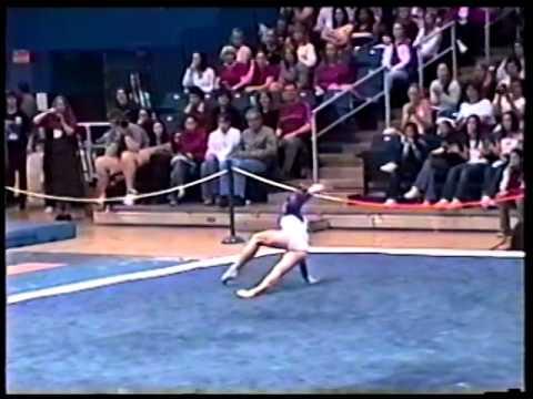Courtney Kupets - Floor - 2003 Pacific Challenge
