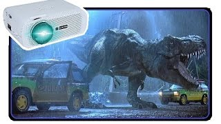 My AWESOME New 1080p HOME THEATER Setup! – Crenova XPE460 HD Projector Review