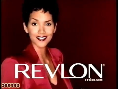 Halle Berry 2003 Revlon Colorstay Commercial - YouTube