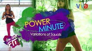 [Go Get Fit] Variations of Squats