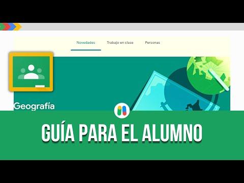 Google Classroom | Usar Classroom como Alumno | Tutorial