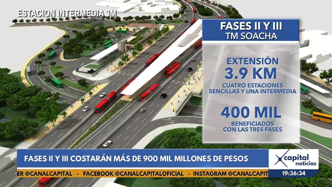 Fases Ii Y Iii De Transmilenio En Soacha Tendran Una Inversion Superior A 900 000 Millones Youtube