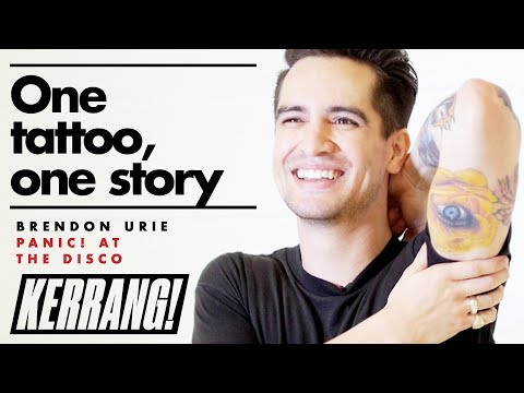 PANIC! AT THE DISCO's Brendon Urie - One Tattoo, One Story