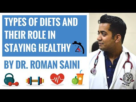 Types of Diets and Their Role in Staying Healthy When You Don't Have Time By Dr. Roman Saini