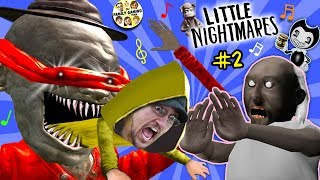 LITTLE NIGHTMARES #2 with GRANNY! (FGTEEV #2)