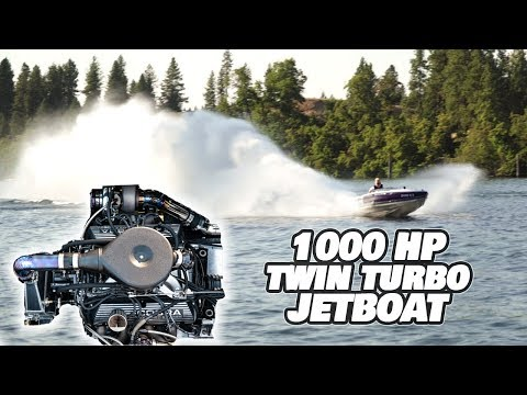 Built Not Bought: 13ft 1000HP+ Twin Turbo Jet Boat EP:3