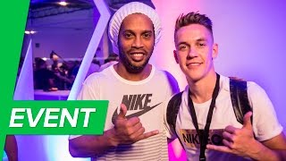 Nike Mercurial Superfly V event w/R9, Ronaldinho & other legends   Science of Speed in Milan