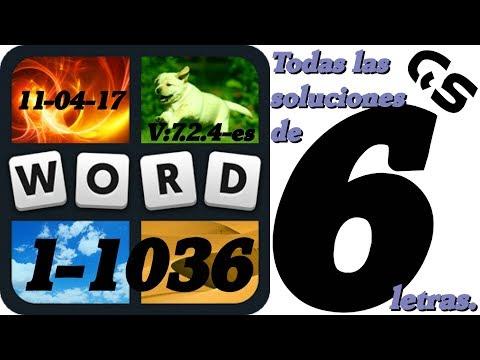 Soluciones De 6 Letras Niveles 1 A 1087 4 Fotos 1 Palabra Todas