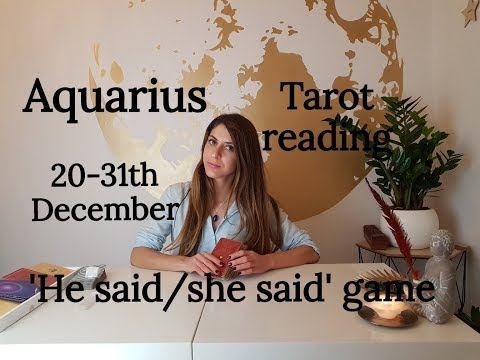 AQUARIUS - YOU GOT THE POWER! 20-31TH December Love Tarot Relationships