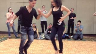 Dominican Touch Bachata Dance - Ella Se Fue - El Tiguere & Hannah