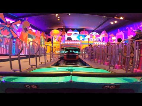 "[4K 2160p]【リニューアル後・最前列】TDL イッツ・ア・スモールワールド / Tokyo Disneyland ""it's a small world"" (Renewed)"