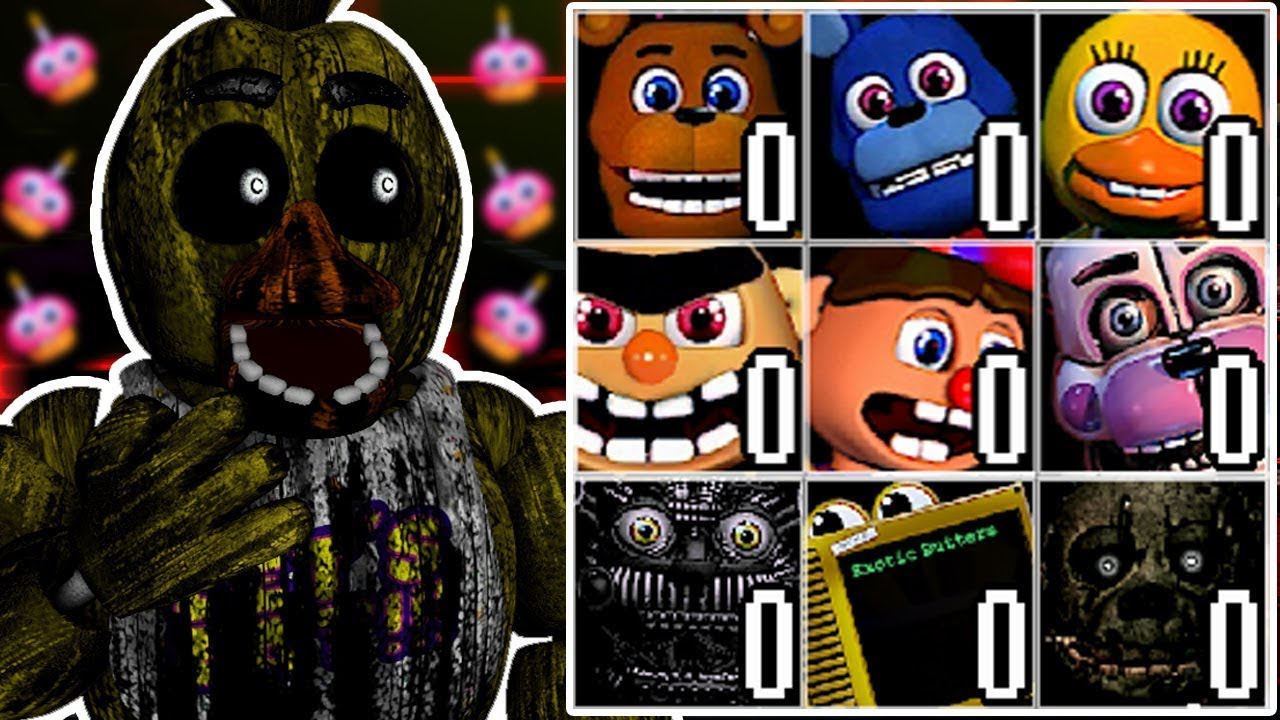 PHANTOM CHICA PLAYS: Rejected Custom Night || EARLY ACCESS