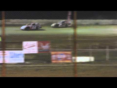 Lucas Dobbs USRA Modifed Heat Race Nevada Speedway 8-30-14