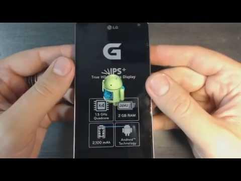 Lg Optimus G E975 hard reset