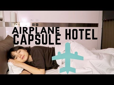 Japan's Airplane-themed Capsule Hotel