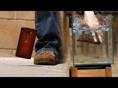 LG G Flex 2 Slow Motion Drop Test