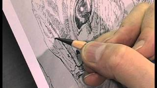 DREW STRUZAN Conceiving & Creating the Hellboy Movie Poster Art - DRAWING