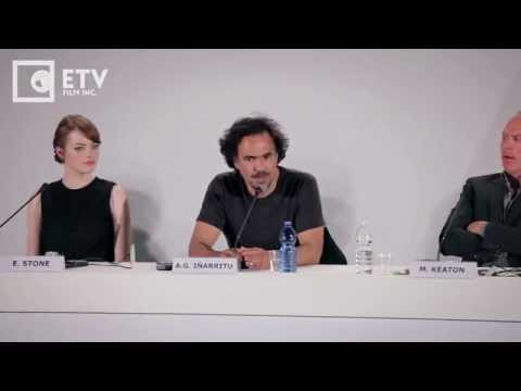 Alejandro Iñárritu on making Birdman, Birdman Press Conference (2014 Venice Film Festival)
