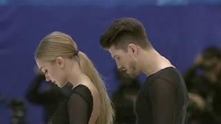 Александра Степанова и Иван Букин Произвольный танец Гран при по фигурному катанию в Японии 2019