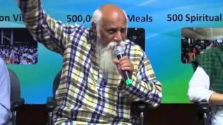 """"""" Meditation - Vegetarianism - PyramidEnergy """" - Patriji, GCSS-2013, Bengaluru"""