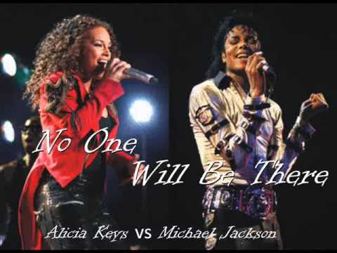 MICHAEL JACKSON vs ALICIA KEYS - No One Will Be There (RENDER RADIO REGGAE MIX)
