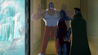 Shredder and Ra's al Ghul in Arkham Asylum | Batman Vs Teenage Mutant Ninja Turtles