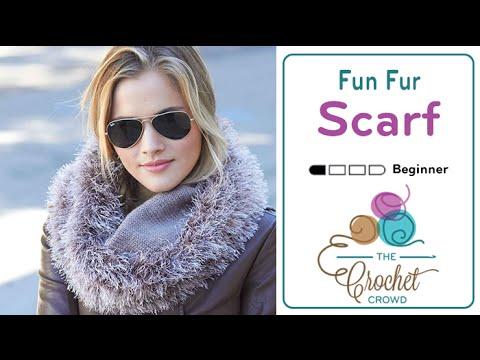 Knitting Pattern For Fun Fur Scarf : How To Knit a Fun Fur Scarf - YouTube