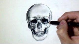 Comment dessiner une tête de mort [Tutoriel]