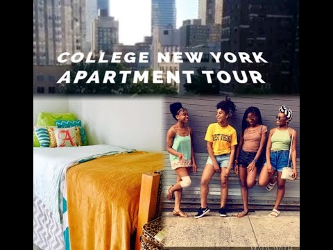 FORDHAM UNIVERSITY MOVE-IN DAY + APARTMENT TOUR!!!💙🌃