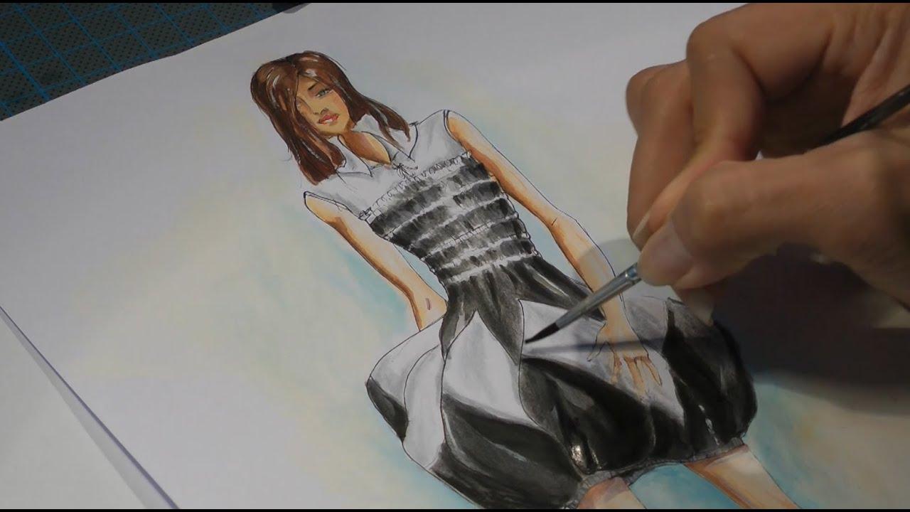 Fashion Designer Drawing Techniques