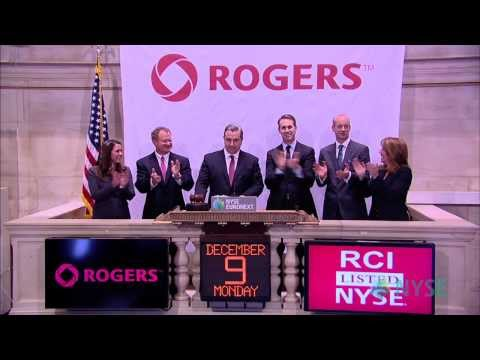 Rogers Communications Visits the NYSE