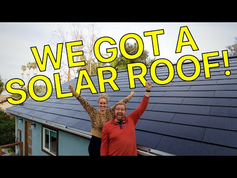 WE GOT A TESLA SOLAR ROOF : First impressions and what you need to know!