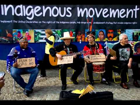 Indigenous Movement April 13th 2013 Dam Square, Amsterdam