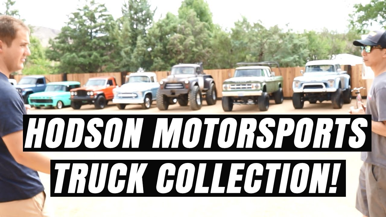 Download Hodson Motorsports secret ranch full of classic crew cabs!