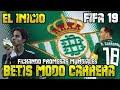 Real Betis Modo Carrera FIFA 19 - Nuevos Fichajes Y Debut En Liga