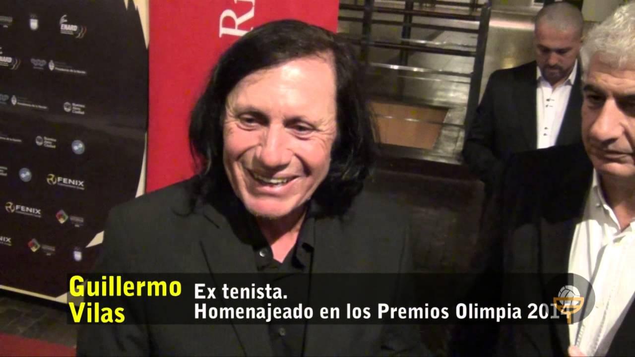 Guillermo Vilas habla de la Copa Davis en los Premios Olimpia 2014